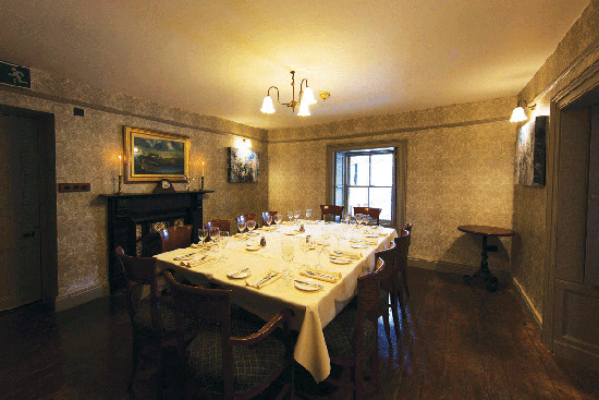 Private Dining at The Olde Post Inn